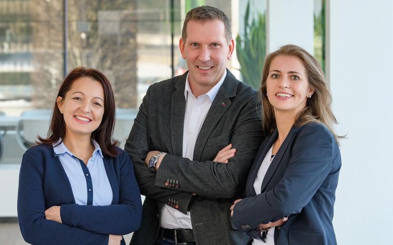 Team der INNEX Immobilien-Treuhand-GmbH -  Hausverwaltung